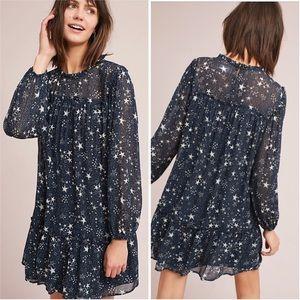 Ruffled Star Swing Dress by Velvet NWT Small